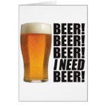 Need Beer Card