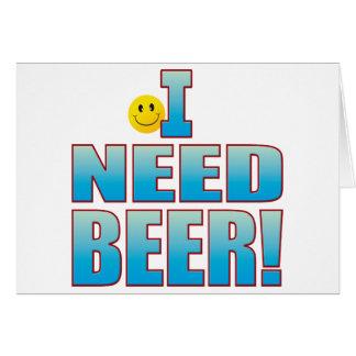 Need Beer Life B Card
