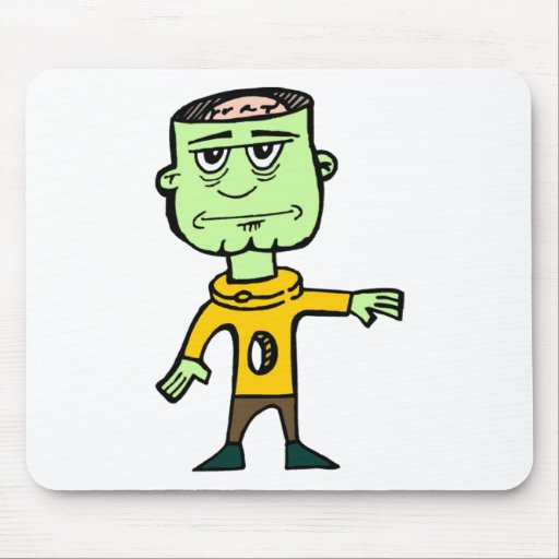 Need Brains Zombie Mouse Pad