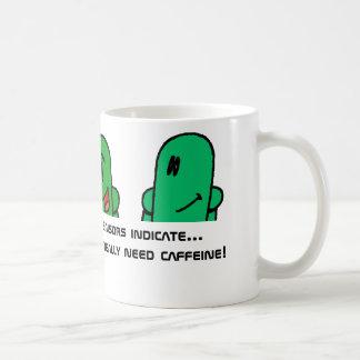 Need Caffeine Mug (Aliens, Hurbi)