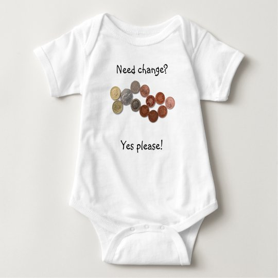 Need change - baby vest baby bodysuit