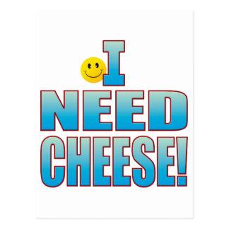 Need Cheese Life B Postcard