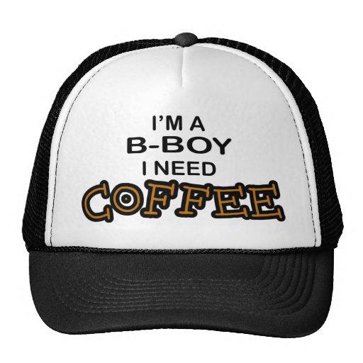Need Coffee - B-Boy Mesh Hat