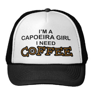 Need Coffee - Capoeira Girl Trucker Hat