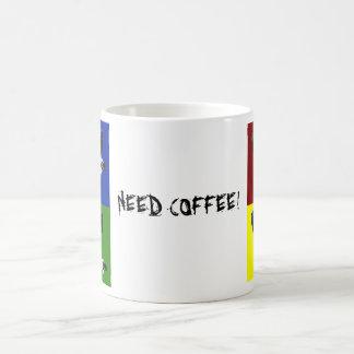 , NEED COFFEE! COFFEE MUG