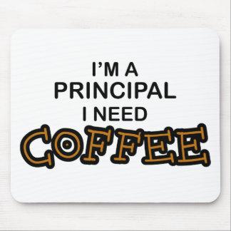 Need Coffee - Principal Mouse Pads