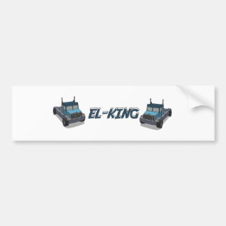 Need for Madness - El King Bumper Sticker