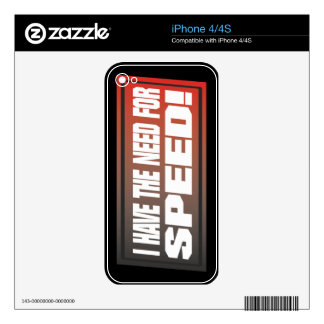 Need For Speed Decals For The iPhone 4S