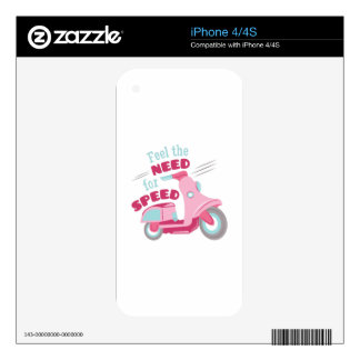 Need For Speed iPhone 4S Skin