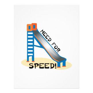Need For Speed Letterhead Design