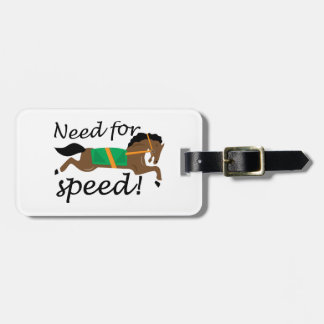Need For Speed Tags For Bags