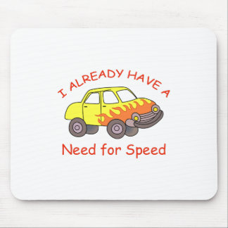 NEED FOR SPEED MOUSE PAD