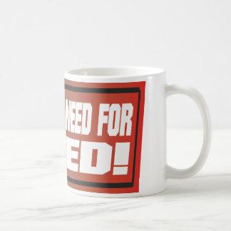 Need For Speed Classic White Coffee Mug
