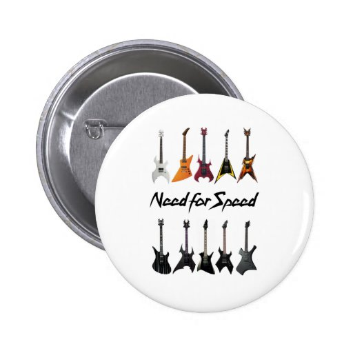 Need for Speed Pinback Button