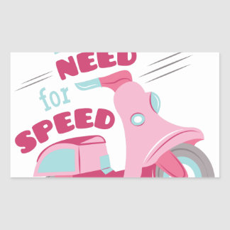 Need For Speed Rectangular Sticker