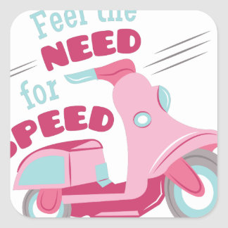 Need For Speed Square Sticker