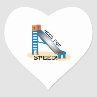 Need For Speed Heart Stickers