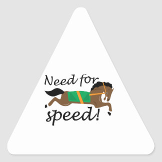 Need For Speed Triangle Stickers