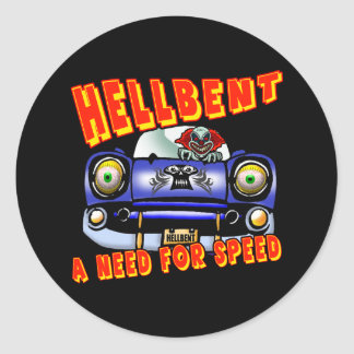 Need For Speed T-shirts and Gifts For Him Classic Round Sticker
