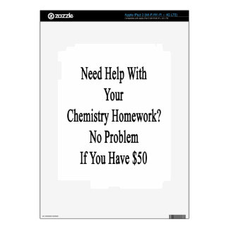 Need Help With Your Chemistry Homework No Problem Decals For iPad 3