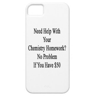 Need Help With Your Chemistry Homework No Problem iPhone SE/5/5s Case