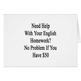 English online homework help