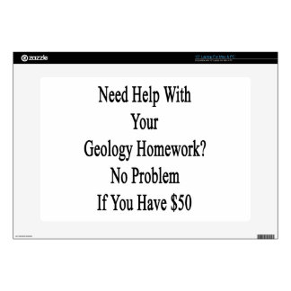 """Need Help With Your Geology Homework No Problem If Decal For 15"""" Laptop"""