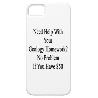 Need Help With Your Geology Homework No Problem If iPhone SE/5/5s Case