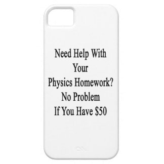 Need Help With Your Physics Homework No Problem If iPhone SE/5/5s Case