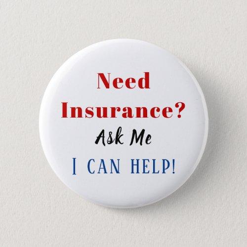 Need Insurance? Button