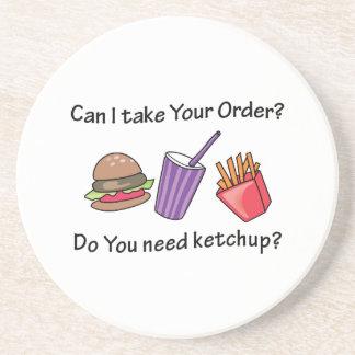 Need Ketchup? Coasters
