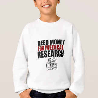 Need money for research sweatshirt