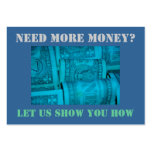 Need More Money? Sizzle Card Business Cards