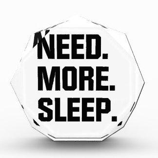 Need More Sleep Award