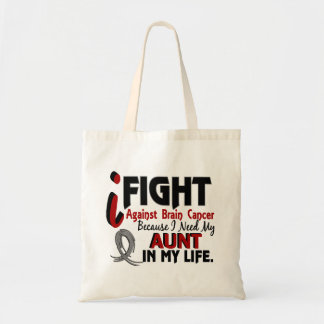 Need My Aunt Brain Cancer Tote Bag
