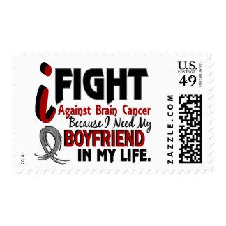 Need My Boyfriend Brain Cancer Postage