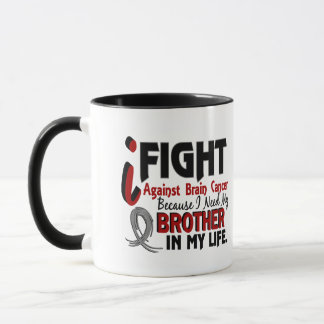 Need My Brother Brain Cancer Mug