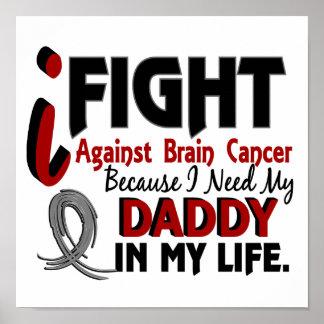 Need My Daddy Brain Cancer Print
