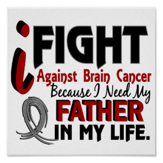 Need My Father Brain Cancer Poster