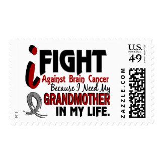 Need My Grandmother Brain Cancer Postage Stamp