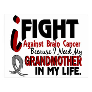 Need My Grandmother Brain Cancer Postcard