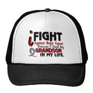 Need My Grandson Brain Cancer Trucker Hat