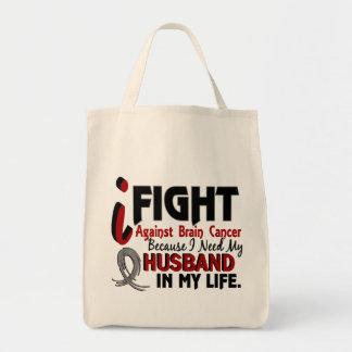 Need My Husband Brain Cancer Tote Bag