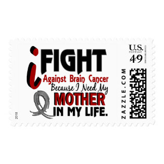 Need My Mother Brain Cancer Postage