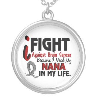 Need My Nana Brain Cancer Custom Necklace