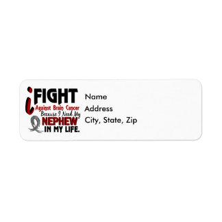 Need My Nephew Brain Cancer Return Address Label
