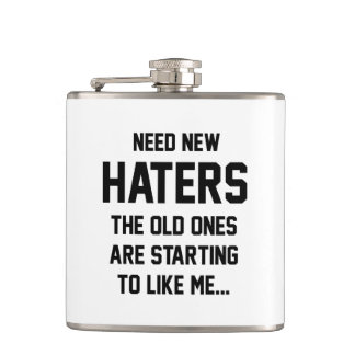Need New Haters Flask