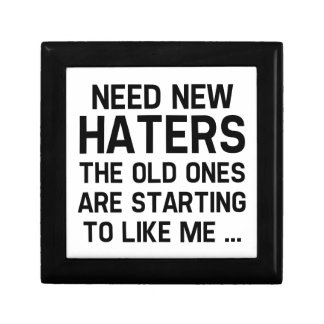 Need New Haters Trinket Box