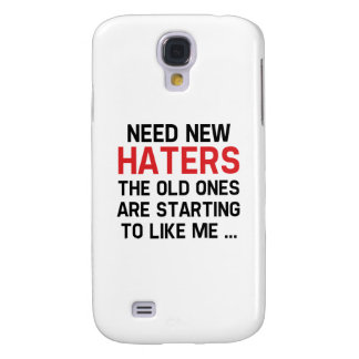 Need New Haters Samsung Galaxy S4 Cover