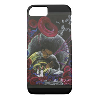 Need not Suffer Alone - Sickle Cell Art by Nazaire iPhone 7 Case